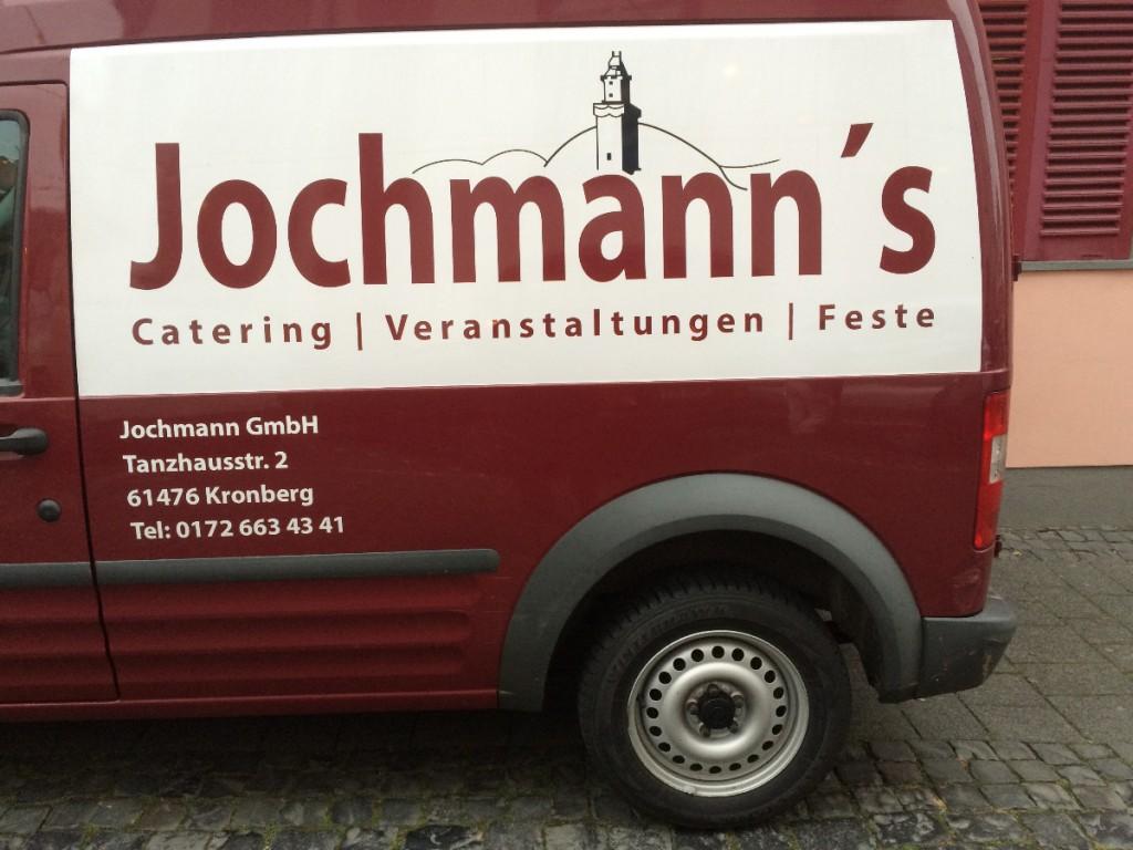 Jochmann's Catering stellte uns ihre Räume zur Verfügung