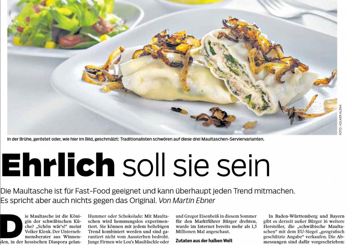 Südwest Presse featuret Oma Lisbeths