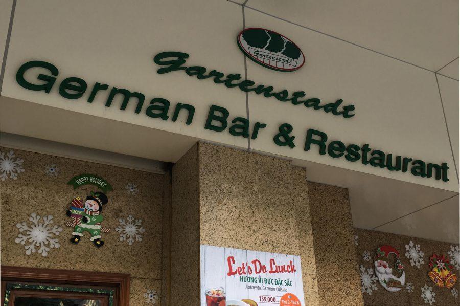 Maultaschen-Restaurants (4/50): Gartenstadt in Saigon