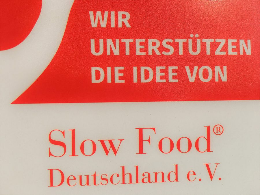 Offiziell Slow Food Unterstützer 2018