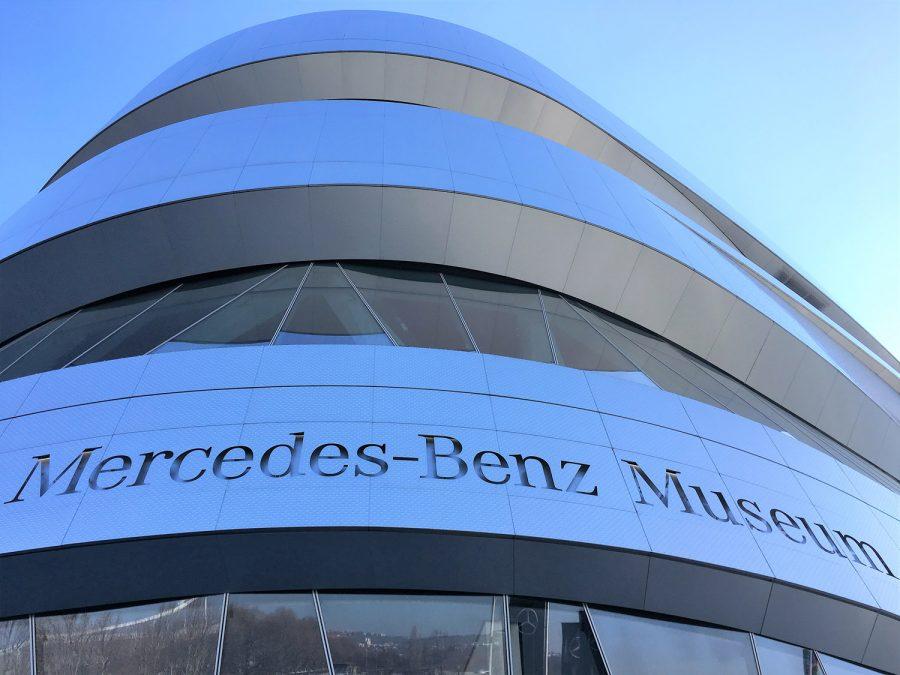 Maultaschen Restaurants (6): Mercedes-Benz Museum in Stuttgart