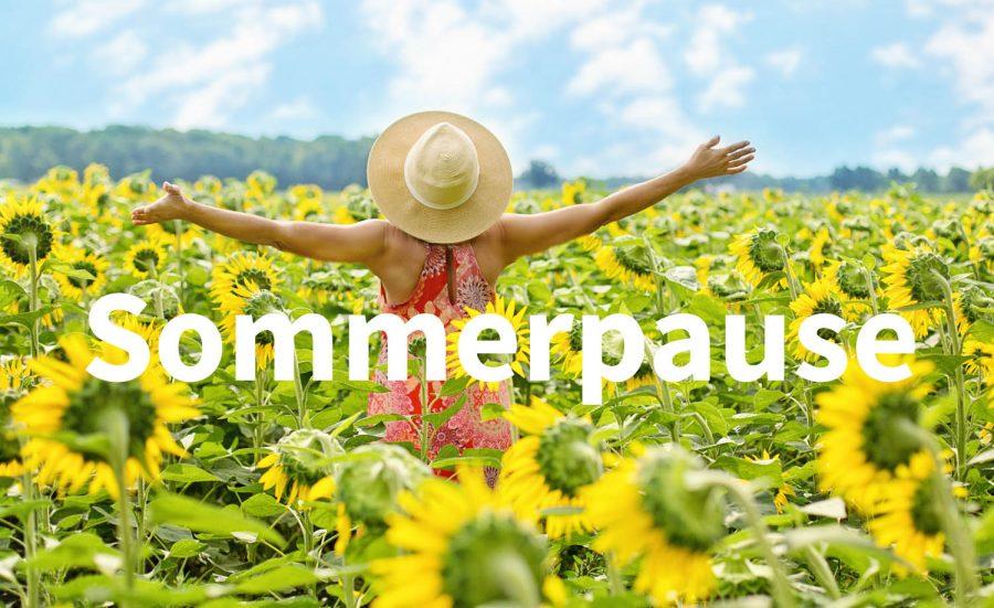 Onlineshop macht wieder Sommerpause