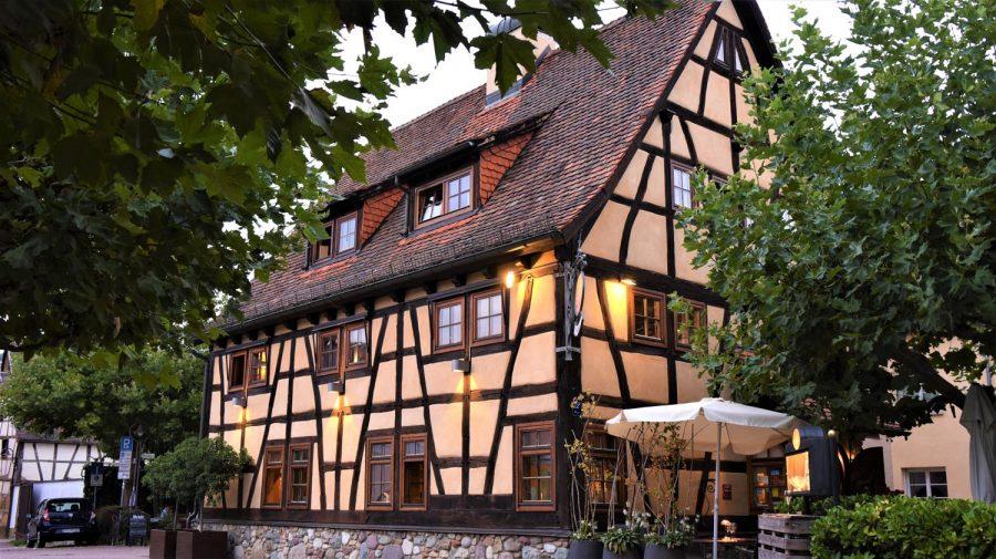 Maultaschen Restaurants (8): die Scheuer in Hofheim