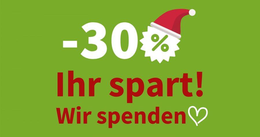 Weihnachtsaktion: Wir spenden wieder 1 € je Maultasche